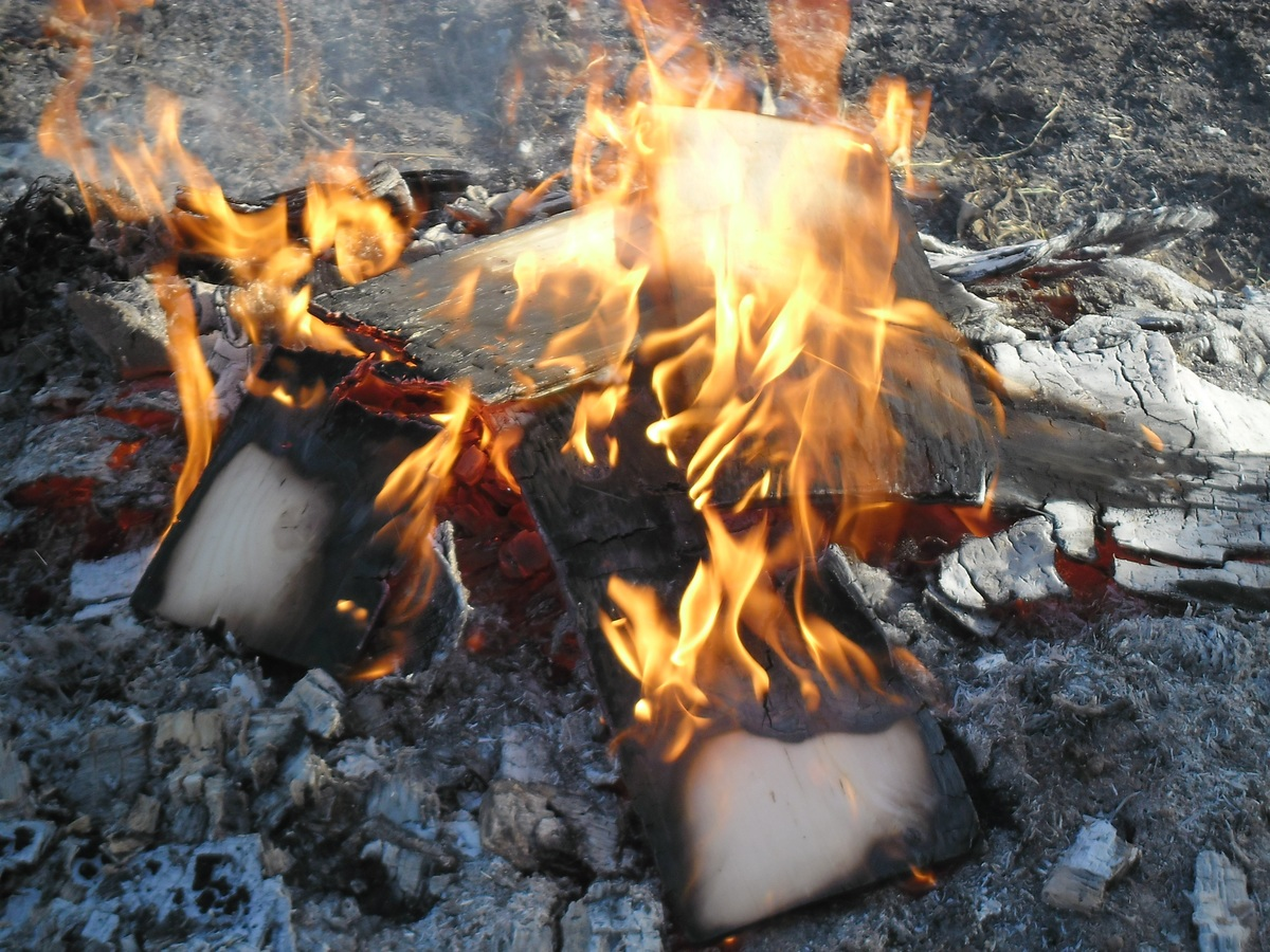 brûler un feu de graisse