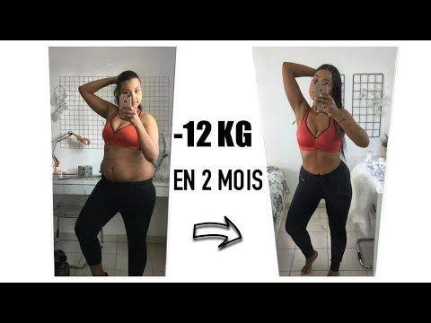1 semaine de perte de poids avant et après