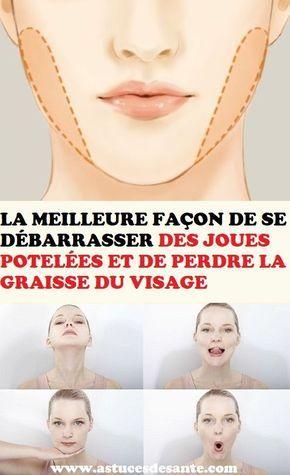meilleure façon de perdre du poids du visage