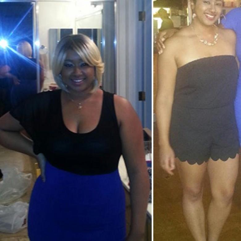 24 ans perdent du poids