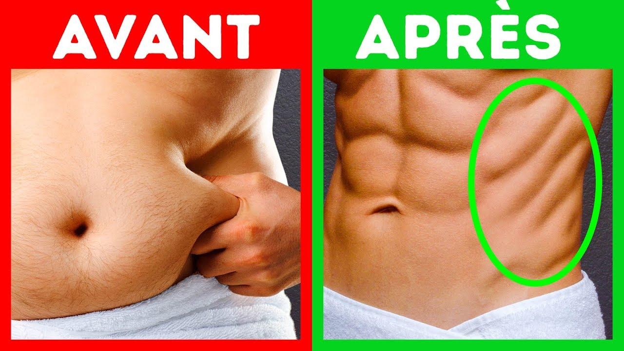 perdre la graisse des hanches
