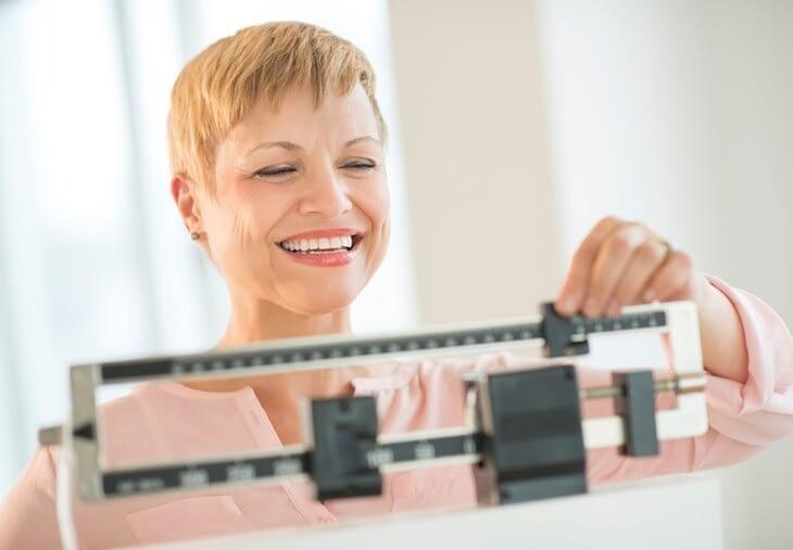 perdez-vous du poids pendant la ménopause