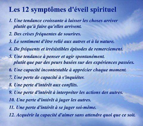 Éveil spirituel – caractéristiques