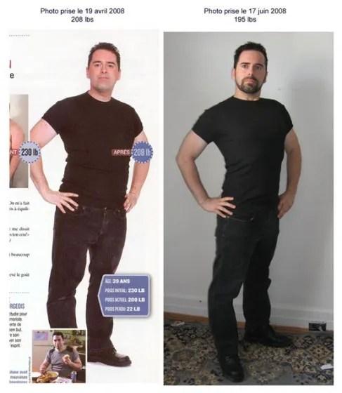 Perte de poids de 9 lb en 3 semaines