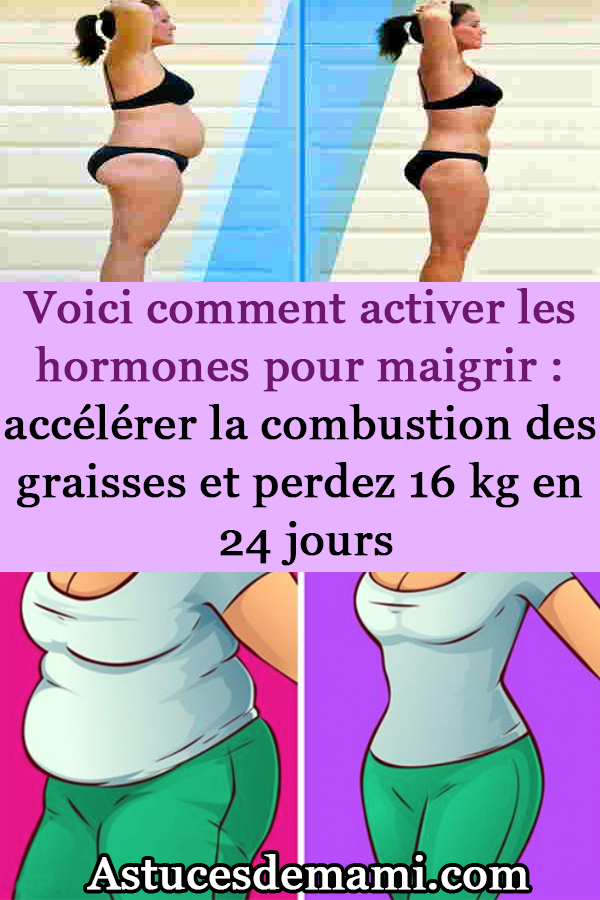 combustion des graisses pour perdre du poids
