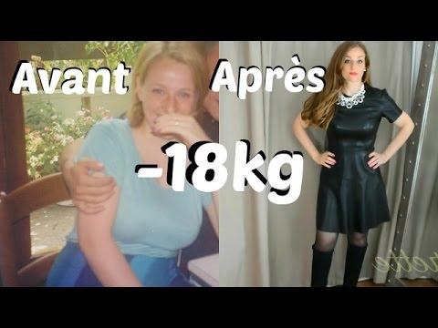 48 kg de perte de poids combustion des graisses de la zone hr