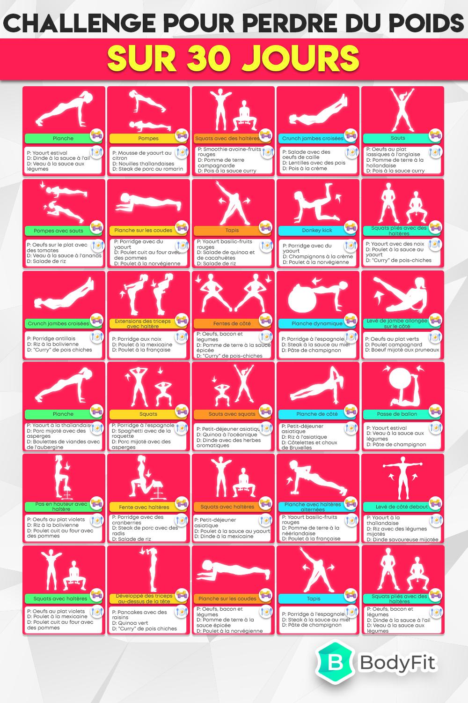 Défi jours - Faire 30 minutes de sport tous les jours