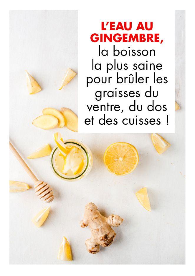 Boisson brule graisse - recette - Gourmand