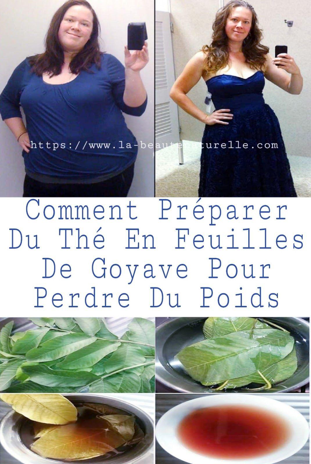 perdre du poids avec des feuilles de goyave