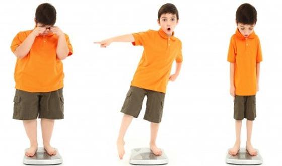 Un enfant de 8 ans veut perdre du poids