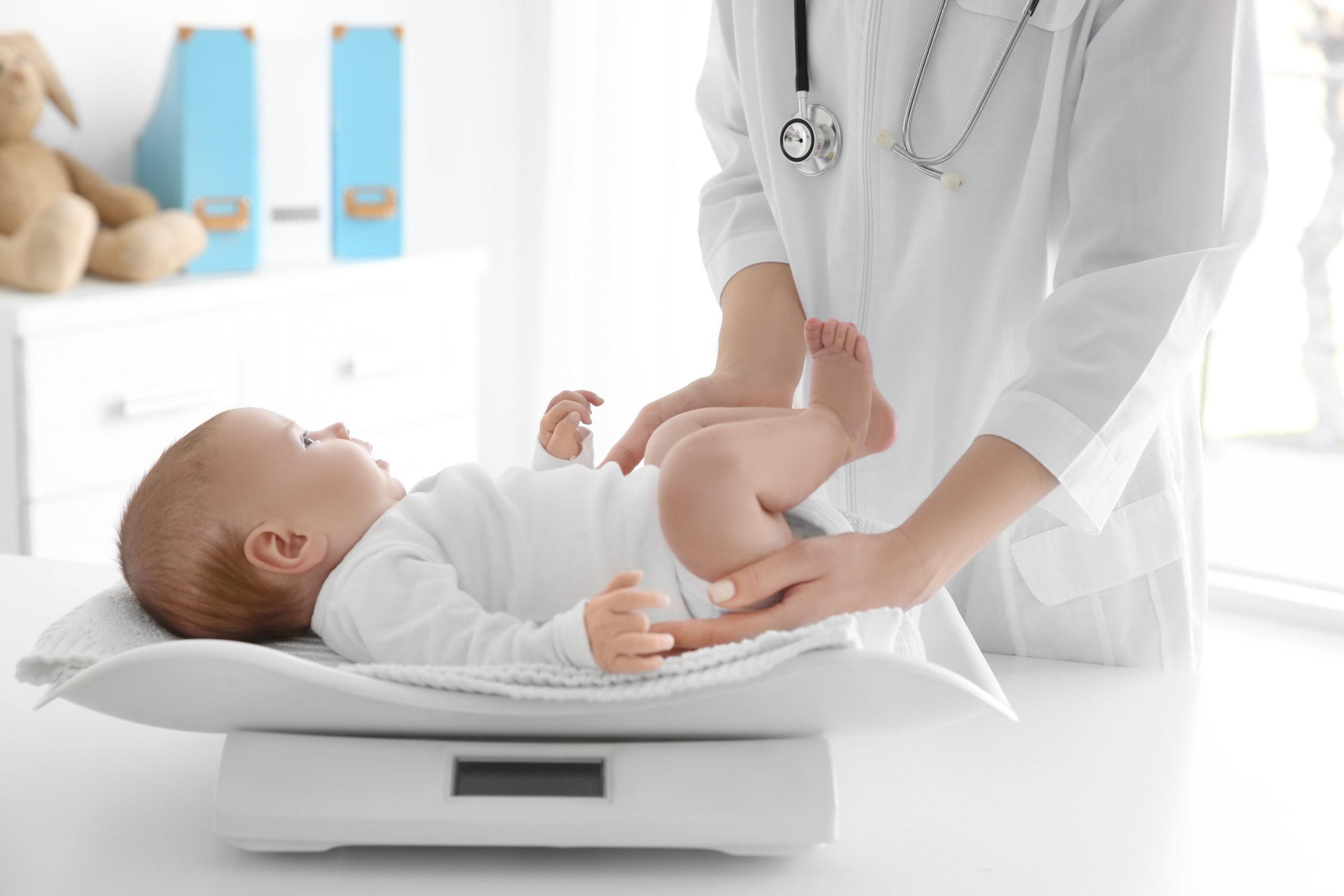 6 nouveau-né de perte de poids