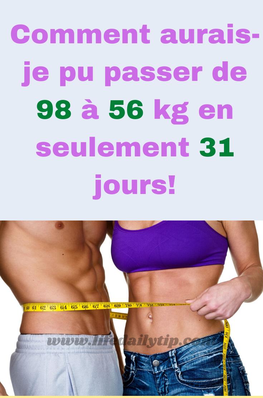 67 livres de perte de poids