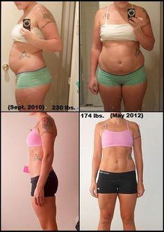 bretelles perte de poids avant et après