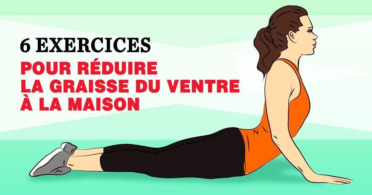 Comment perdre du ventre à la maison avec 5 exercices faciles