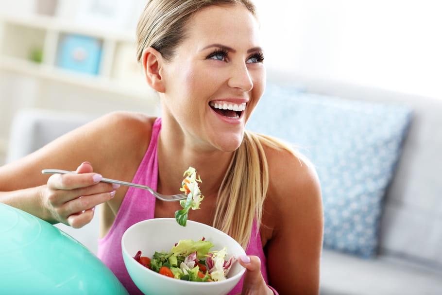 Une femme de 40 ans ne peut pas perdre de poids