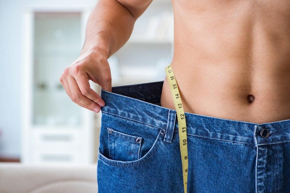 la perte de poids se produit lentement