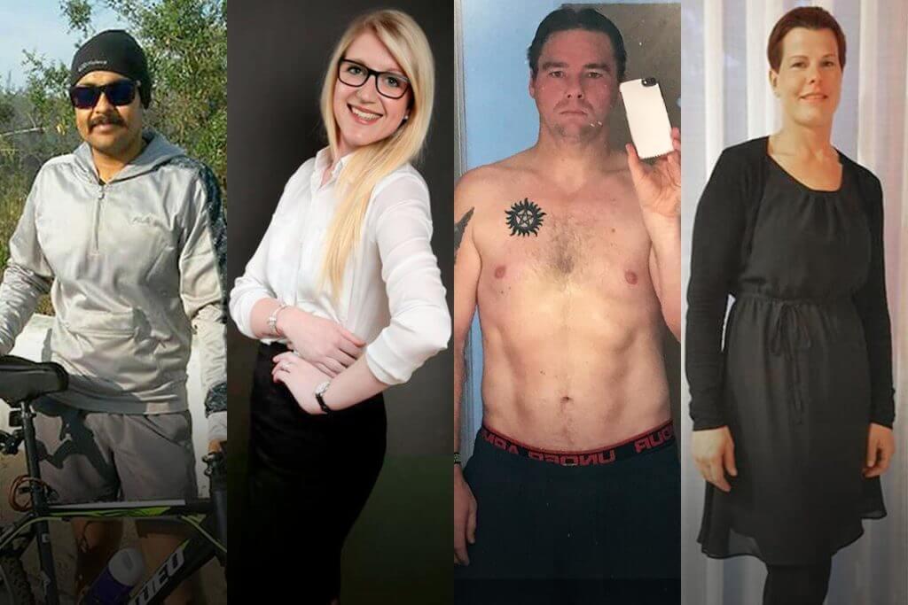histoires de réussite de perte de poids élevée