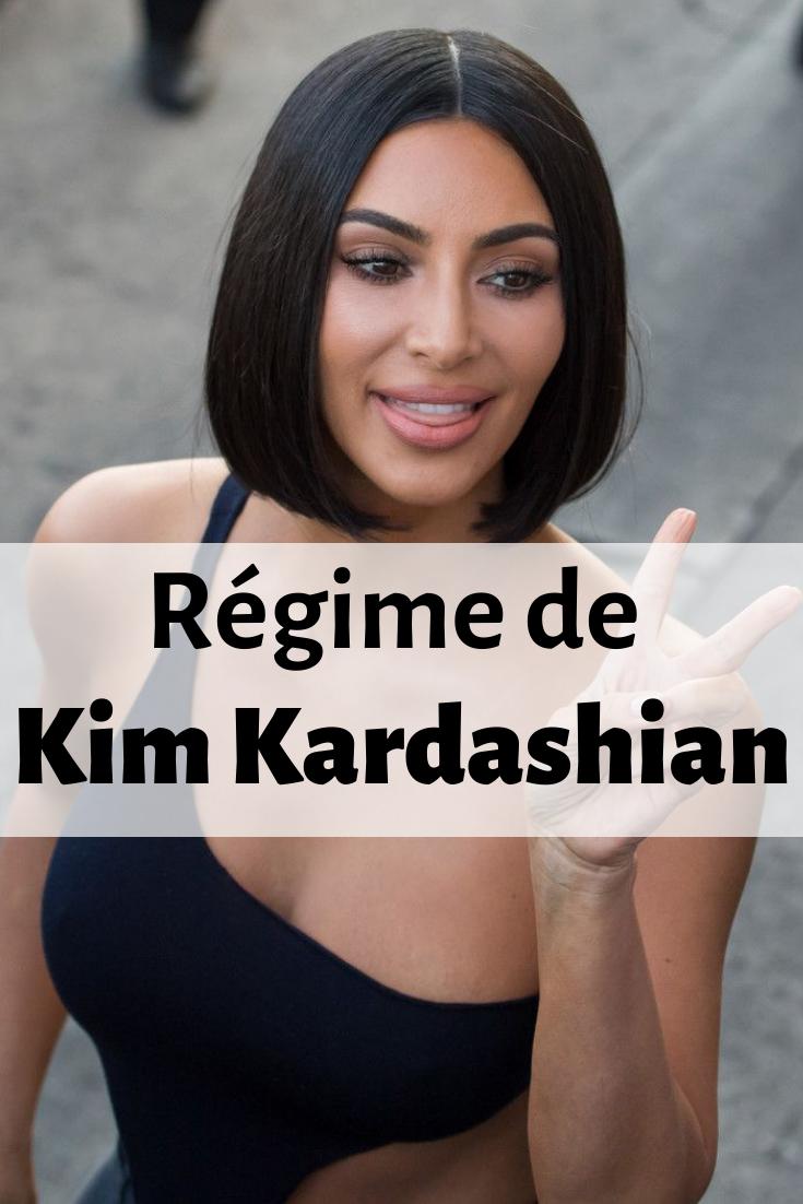 perdre du poids kim kardashian