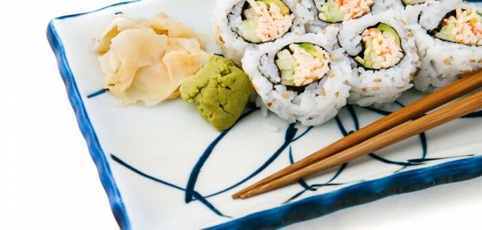 sushi pour perdre la graisse du ventre