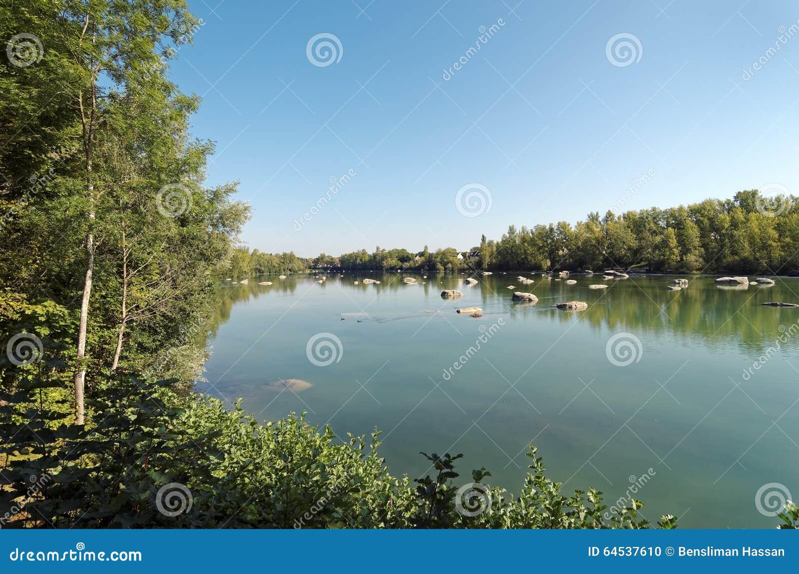 forêt de lac de perte de poids
