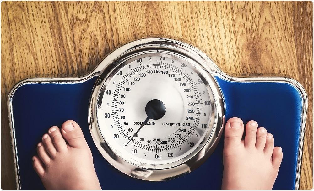 perte de poids des enfants obèses
