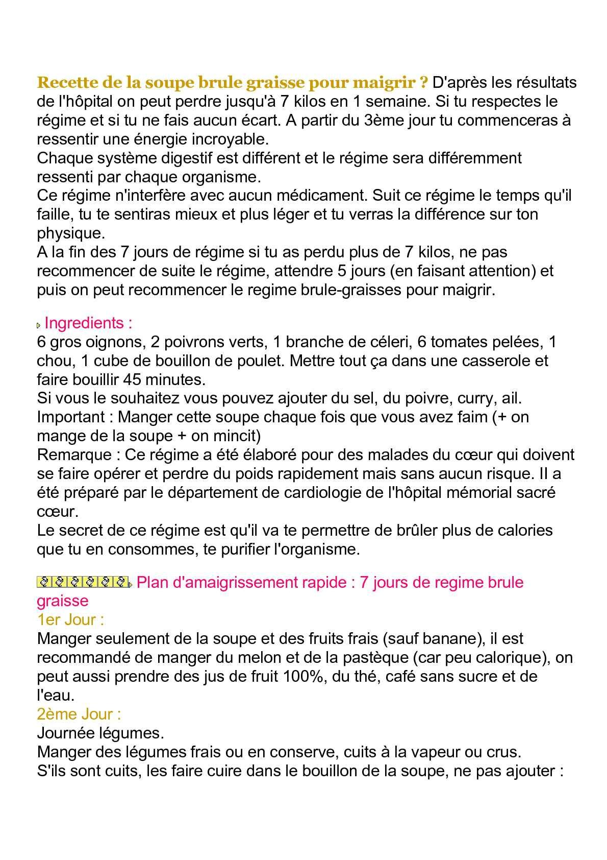 LE LIPOX OU COMMENT BRÛLER PLUS DE GRAISSES