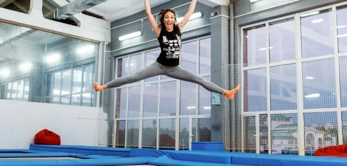 Exercices de trampoline pour la perte de poids - TOPFLEX - SPORT INNOV