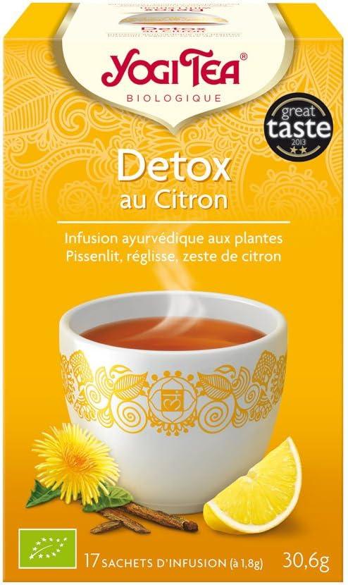 Tisane détox de Yogi Tea dès 3,03 € Tisanes et thés en Boite de 17 sachets