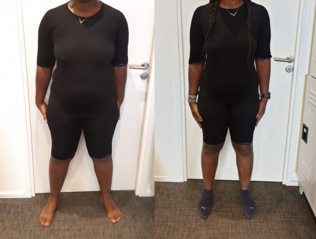 perte de poids égale à