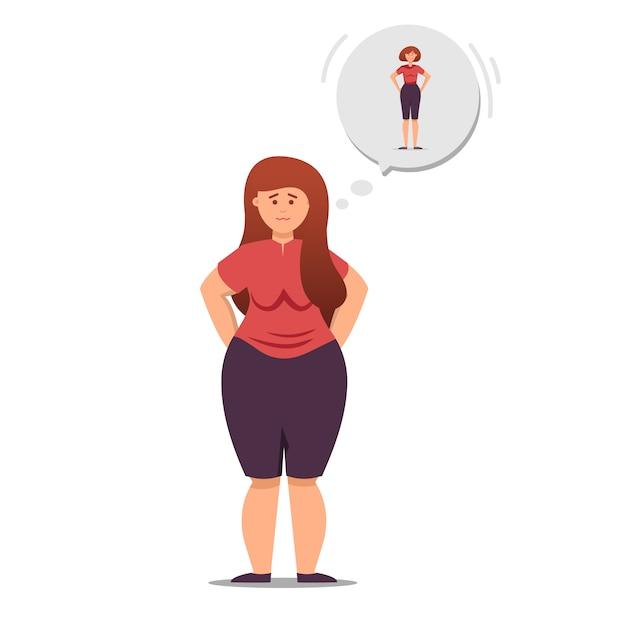 fille anime de perte de poids comment perdre complètement de la graisse