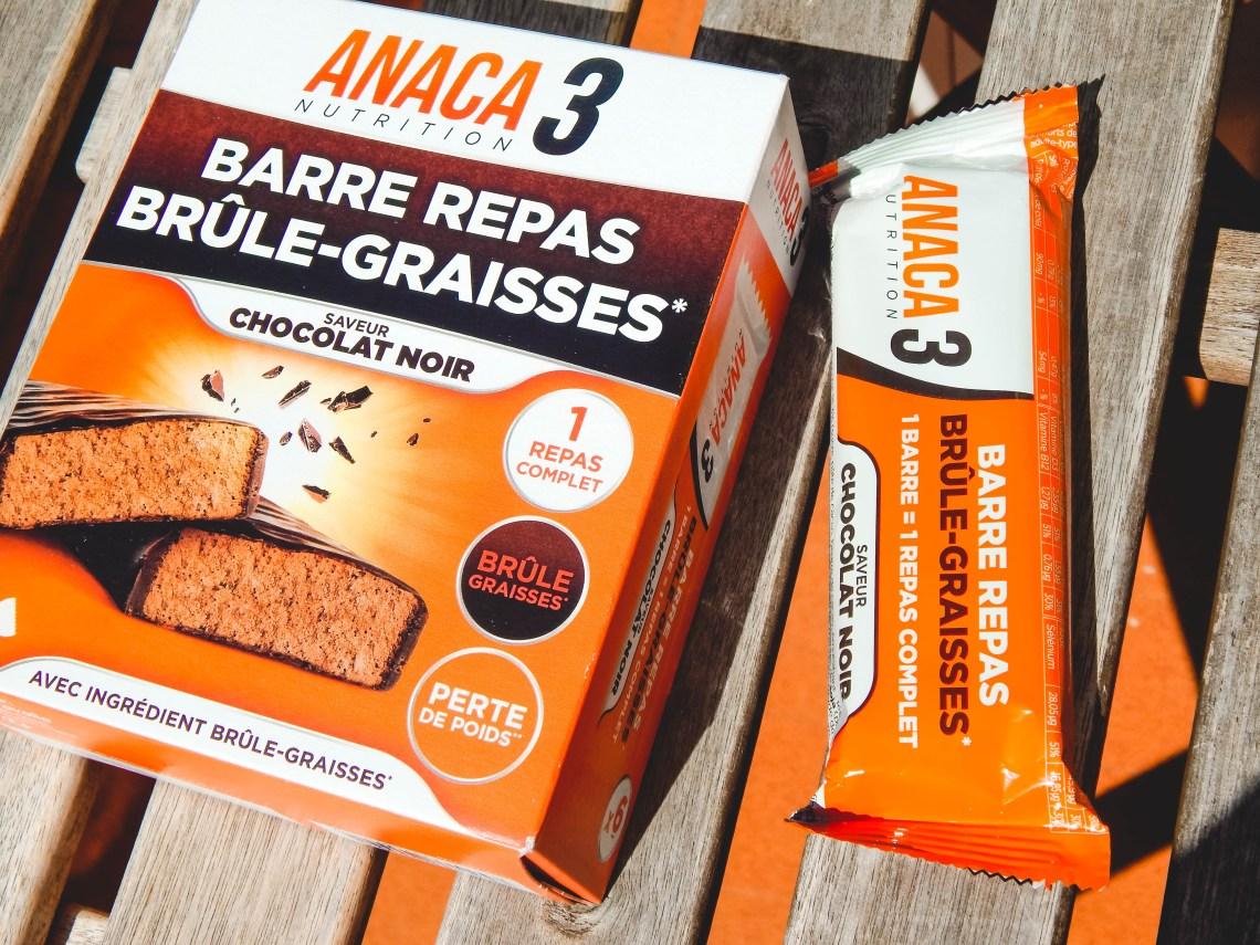 Anaca 3 Barre Repas Brûle-Graisses 6 unités | DoctiPharma