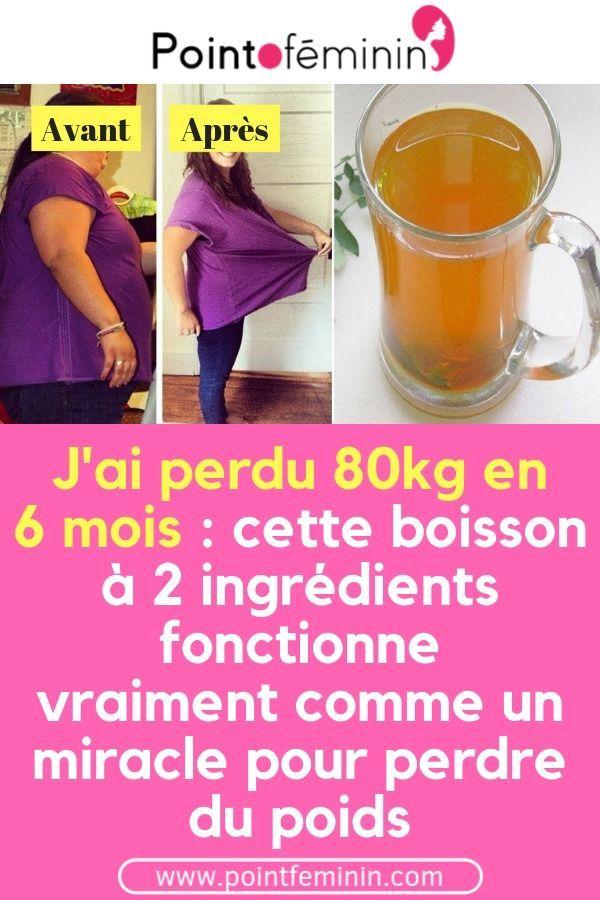 boisson miracle brûlant les graisses