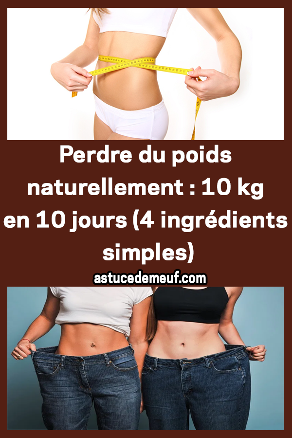 10 conseils pour perdre 3 kilos rapidement