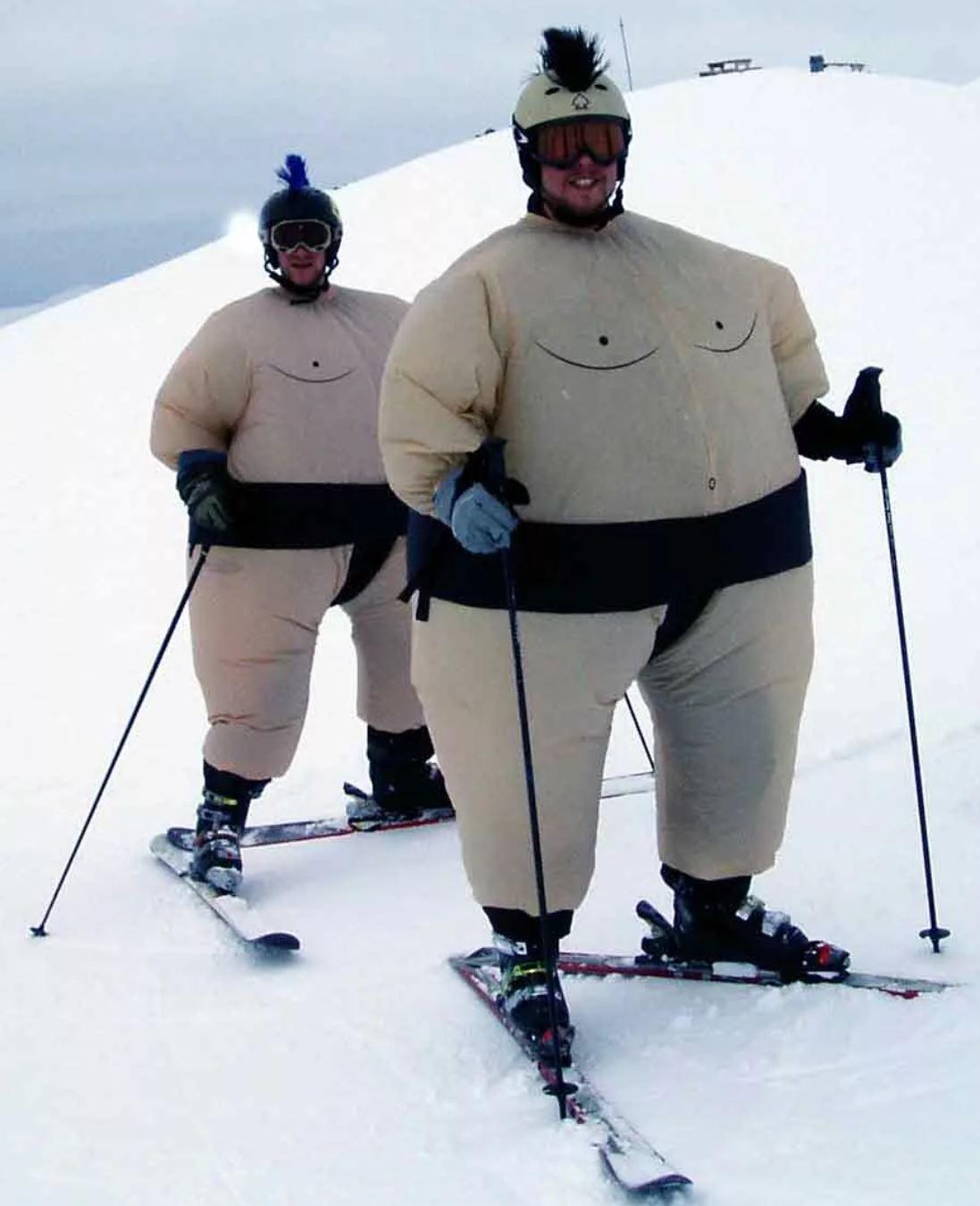 Ski : mettez votre corps en piste - mincir à la montagne - Elle