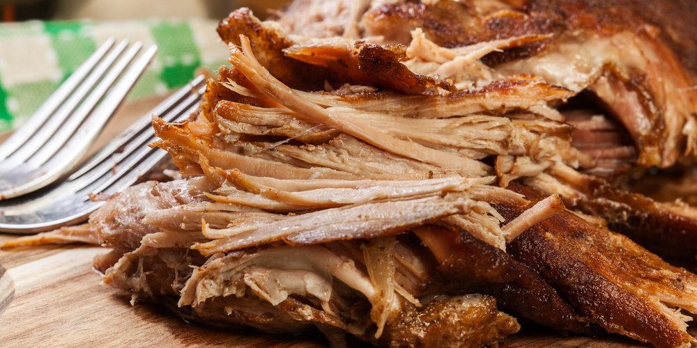 porc effiloché barbecue minceur perte de poids avec le vih