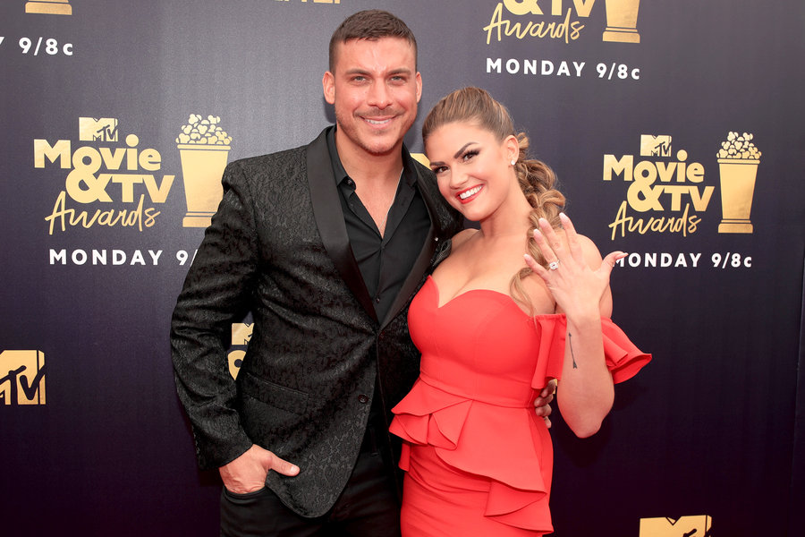 Jax Taylor, Brittany Cartwright Stop Quainine Weight Gain With Scale