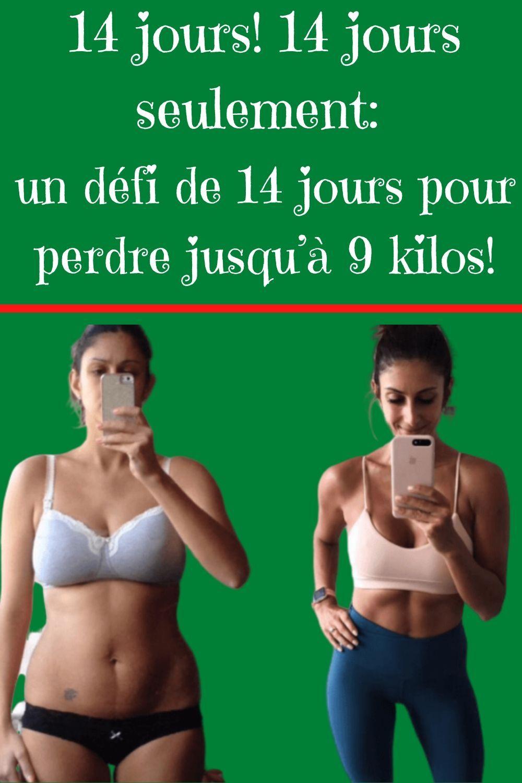 défi idéal de perte de poids