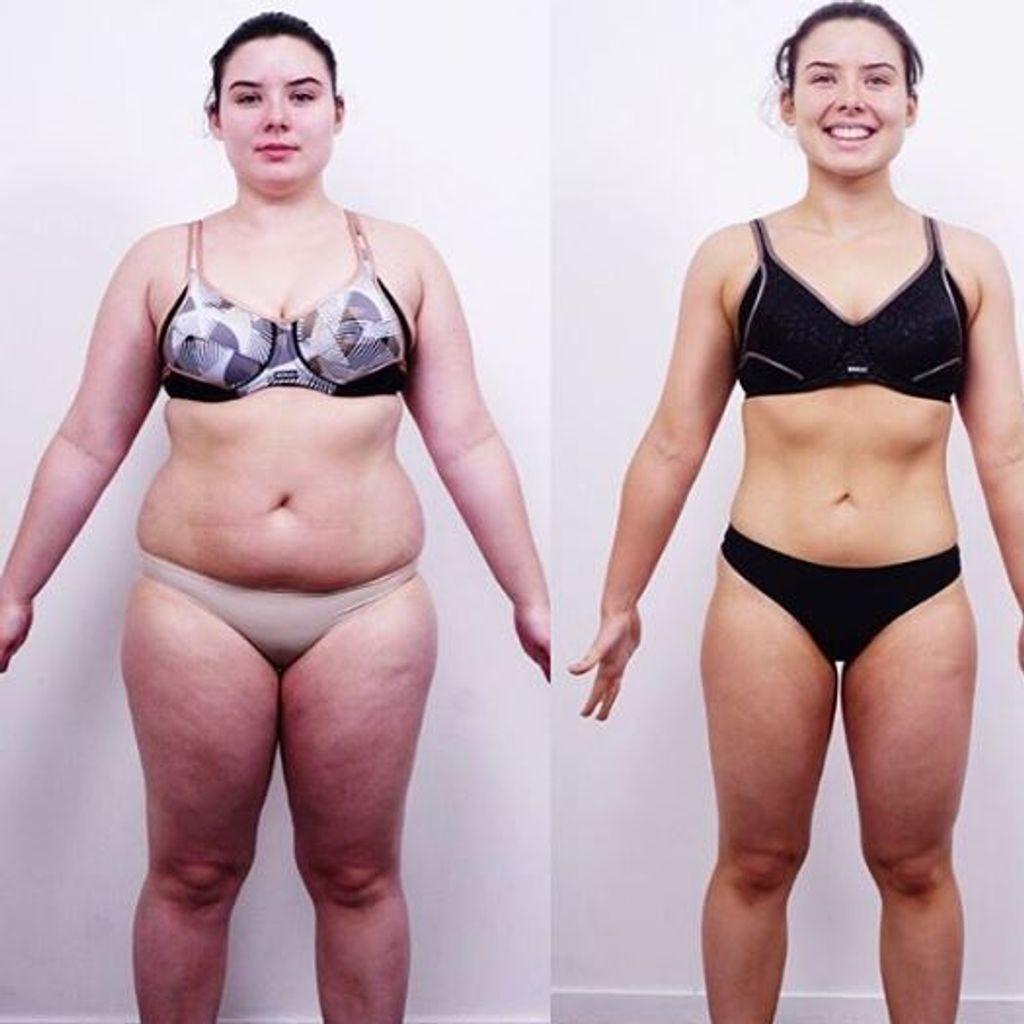 combien de perte de poids en 4 semaines