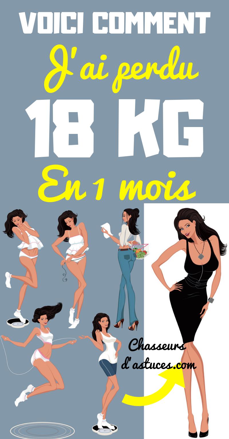 jai 18 semaines pour perdre du poids