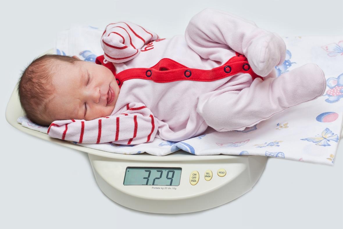 le nouveau-né na pas perdu de poids