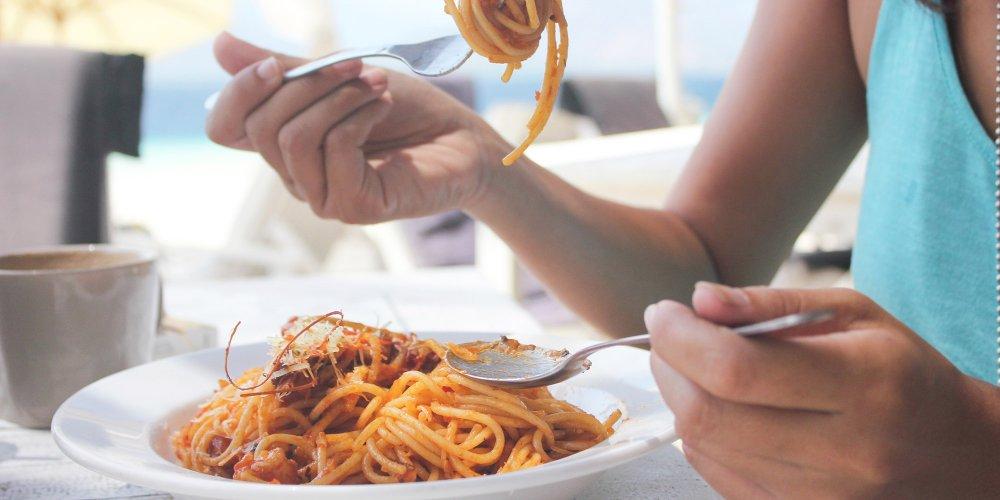 nouilles spaghetti perte de poids