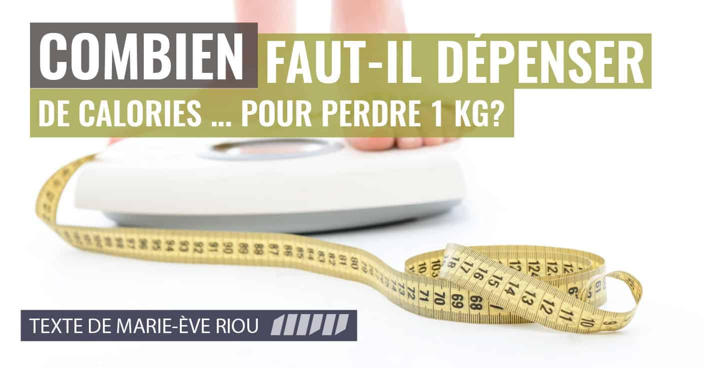 Comment perdre 1 kilo ? | Fourchette & Bikini