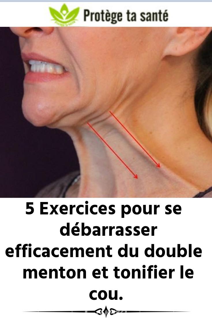 Comment maigrir du visage, perdre des joues et le double menton ?