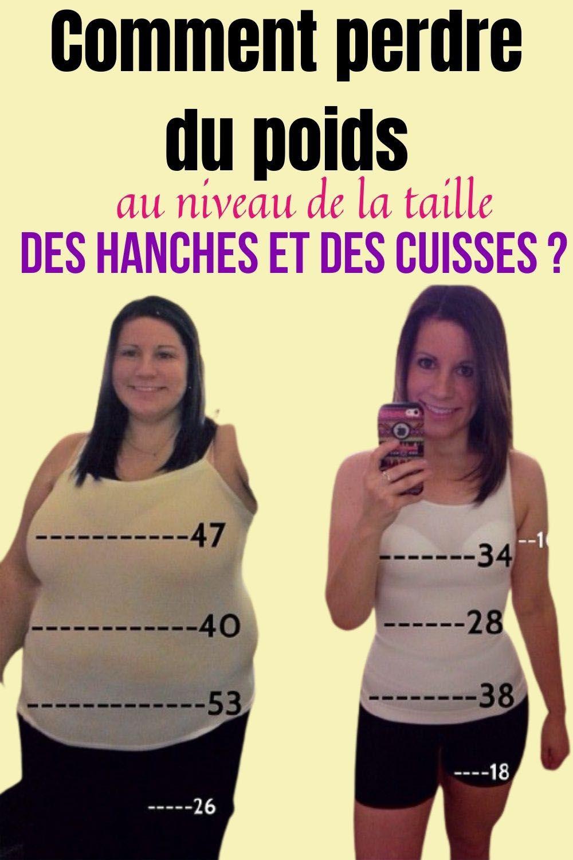 perdre du poids dans vos hanches