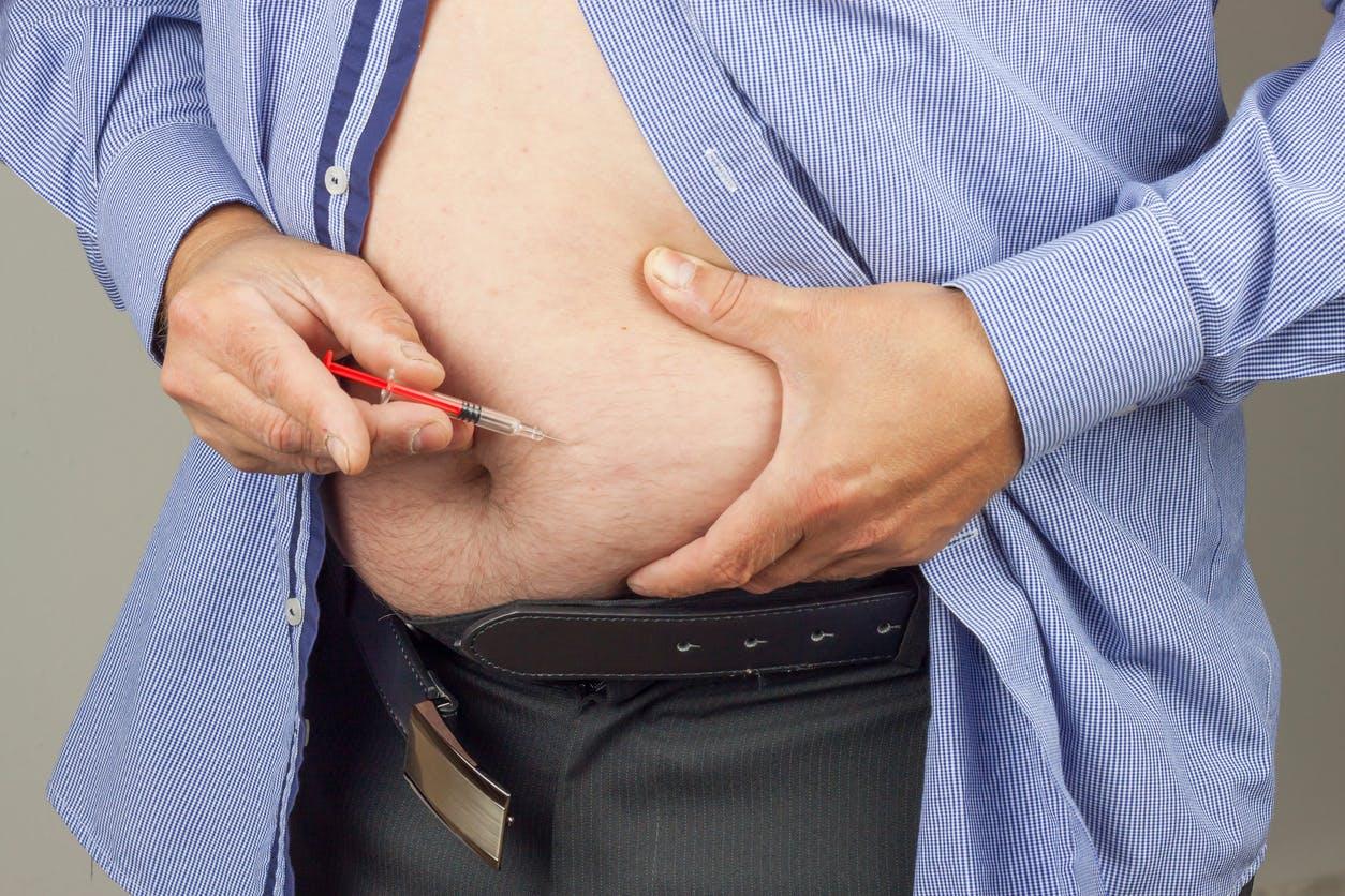 perte de poids chez les hommes obèses