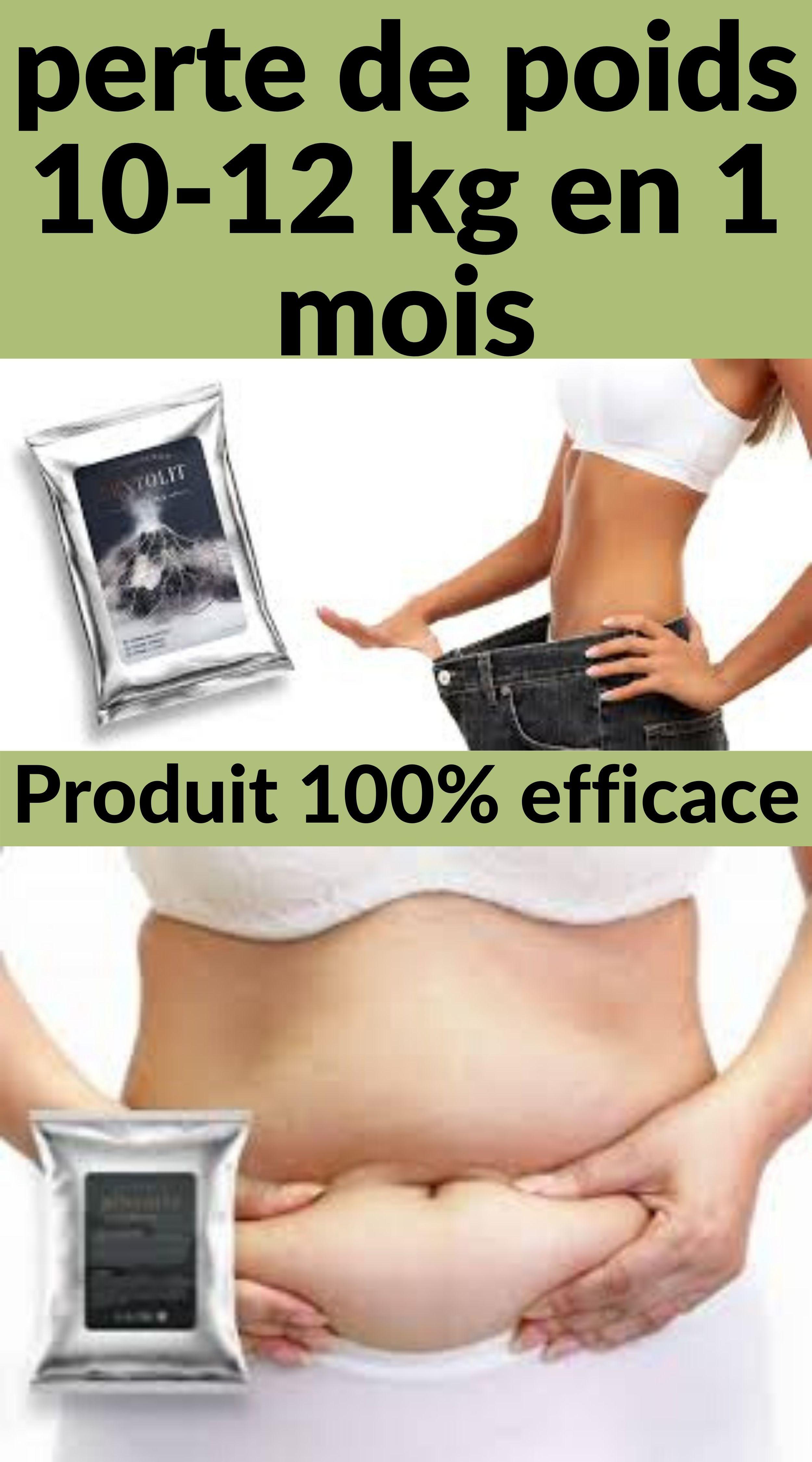 perte de poids saine par mois kg