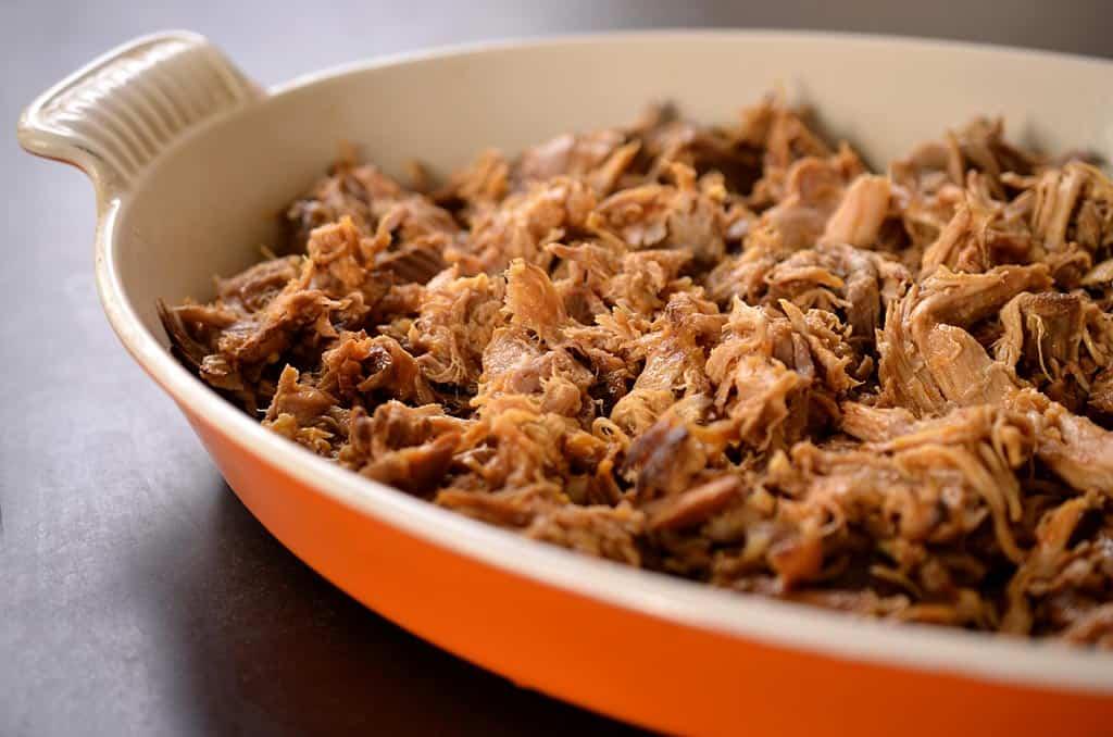 porc effiloché barbecue minceur latex pour perdre du poids