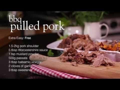 porc effiloché barbecue minceur effet du jour de triche sur la perte de poids