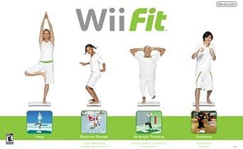 Wii fit pour pour perdre du poids - Elle