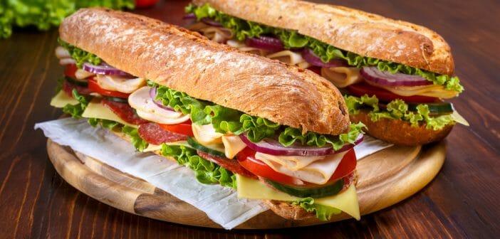 15 recettes de paninis à moins de 150 calories